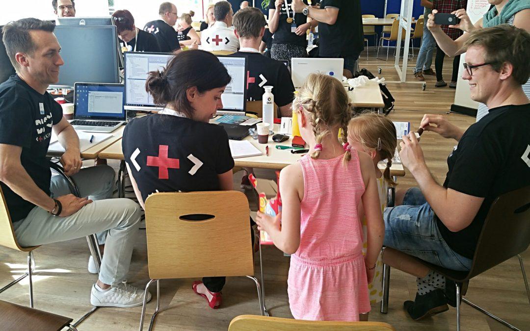Team 17 Prinses Máxima Centrum bereikt fantastisch resultaat op Hacking Health Utrecht 2018