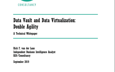 Data Vault and Data Virtualization: Double Agility
