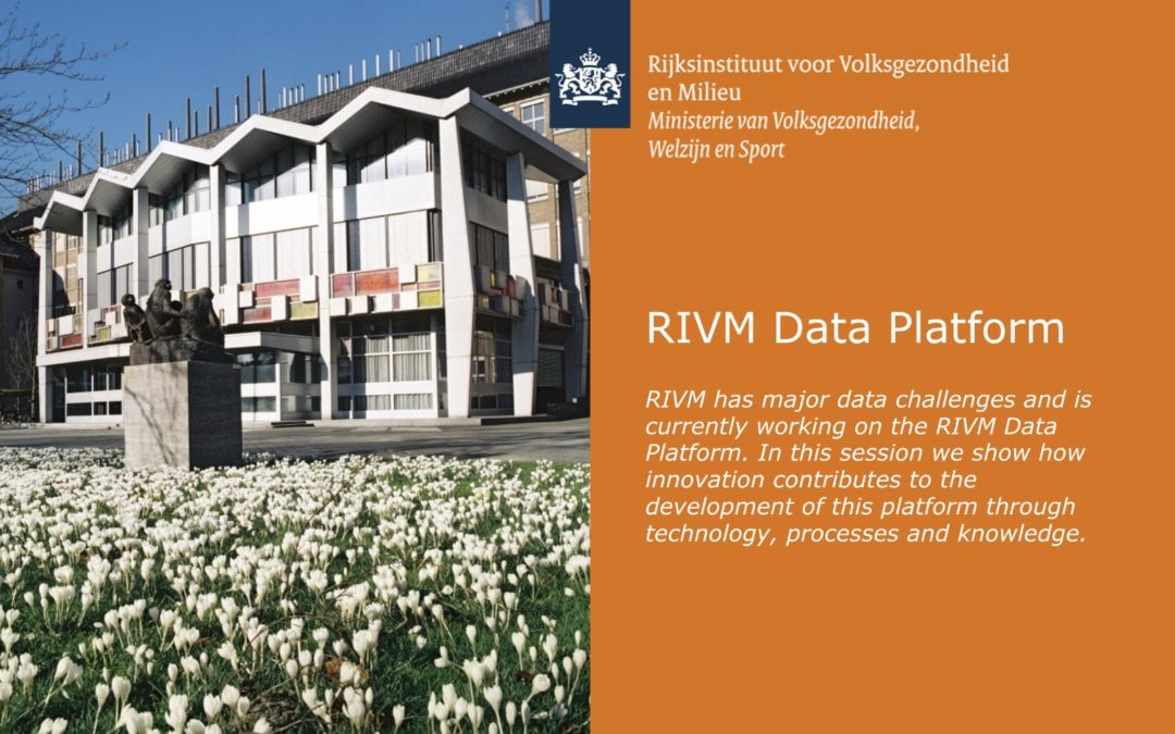 Dutch TIBCO Innovation Day – RIVM Data Platform