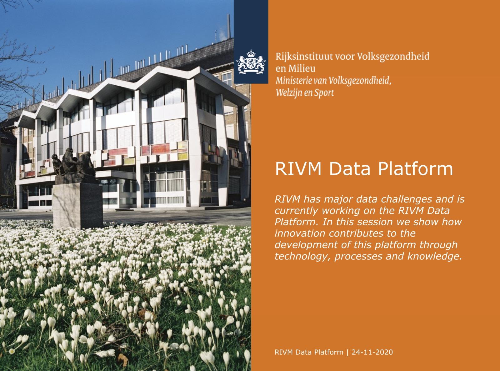 RIVM Data Platform