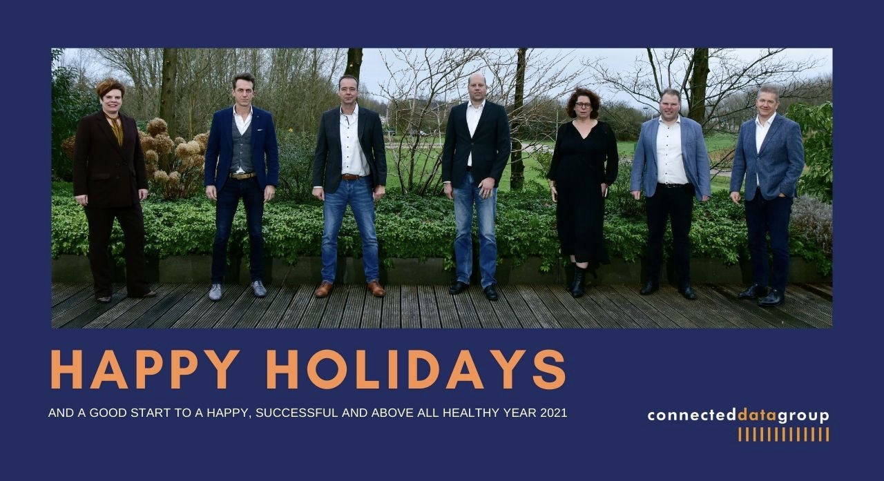 Happy Holidays from Connected Data Group