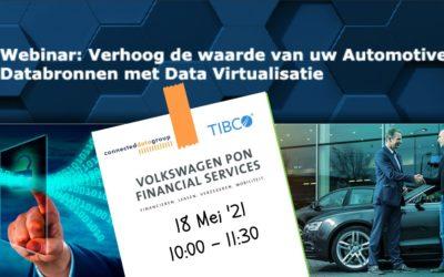 Webinar: Verhoog de waarde van uw Automotive Databronnen met Data Virtualisatie