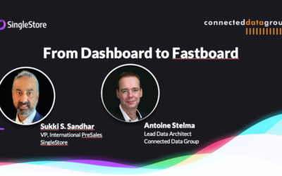 TDWI Lunch & Learn session: From Dashboard to Fastboard with SingleStore