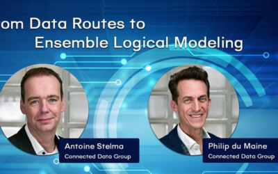 From Data Routes to Ensemble Logical Modeling