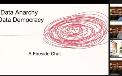 """Webinar Recording """"Turn Data Anarchy to Data Democracy"""" is available!"""